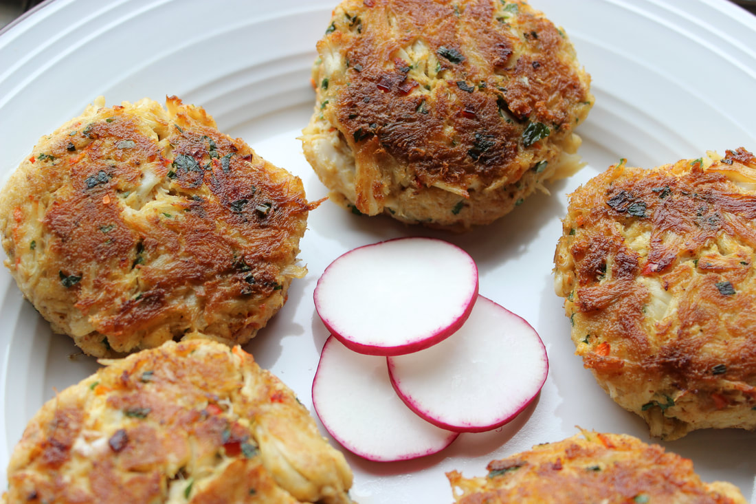 gluten-free maryland crab cakes