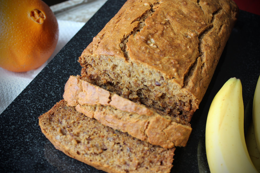 gluten free trifecta banana bread